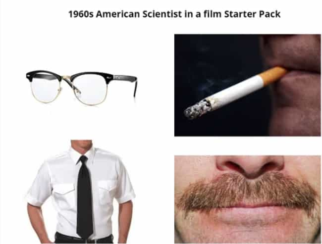 Yea, We've Seen The Type... is listed (or ranked) 1 on the list 27 Spot On Starter Pack Memes That Perfectly Describe Someone You Know