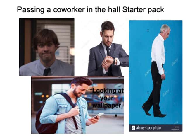 Not Before I Have A Cup Of Cof is listed (or ranked) 16 on the list 27 Spot On Starter Pack Memes That Perfectly Describe Someone You Know