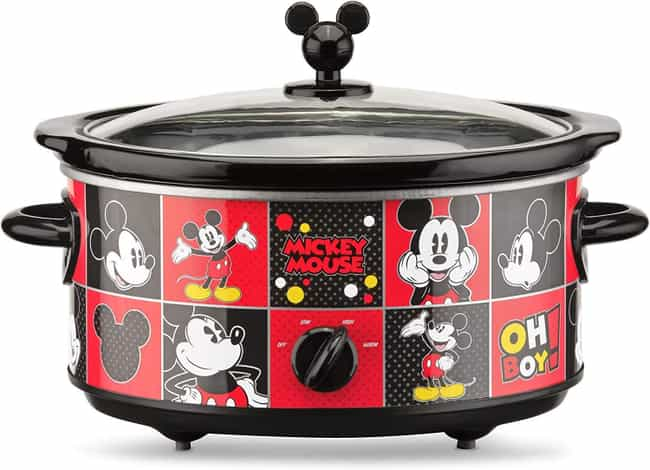 Mickey Slow Cooker is listed (or ranked) 3 on the list Magical Gift Ideas For People Who Are Obsessed With Disney