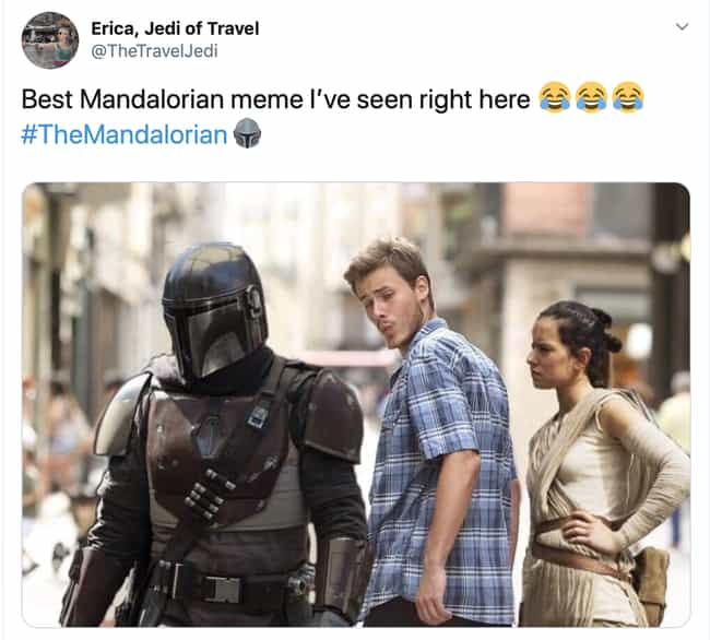 My Face Mask Is Up Here is listed (or ranked) 4 on the list 18 Hilarious Reactions To The First Episode Of 'The Mandalorian'