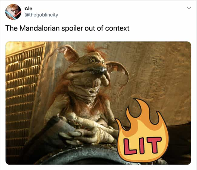This One's Brutal is listed (or ranked) 2 on the list 18 Hilarious Reactions To The First Episode Of 'The Mandalorian'