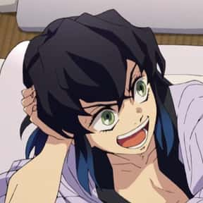 Hashibira Inosuke is listed (or ranked) 13 on the list The Best Anime Characters With Black Hair
