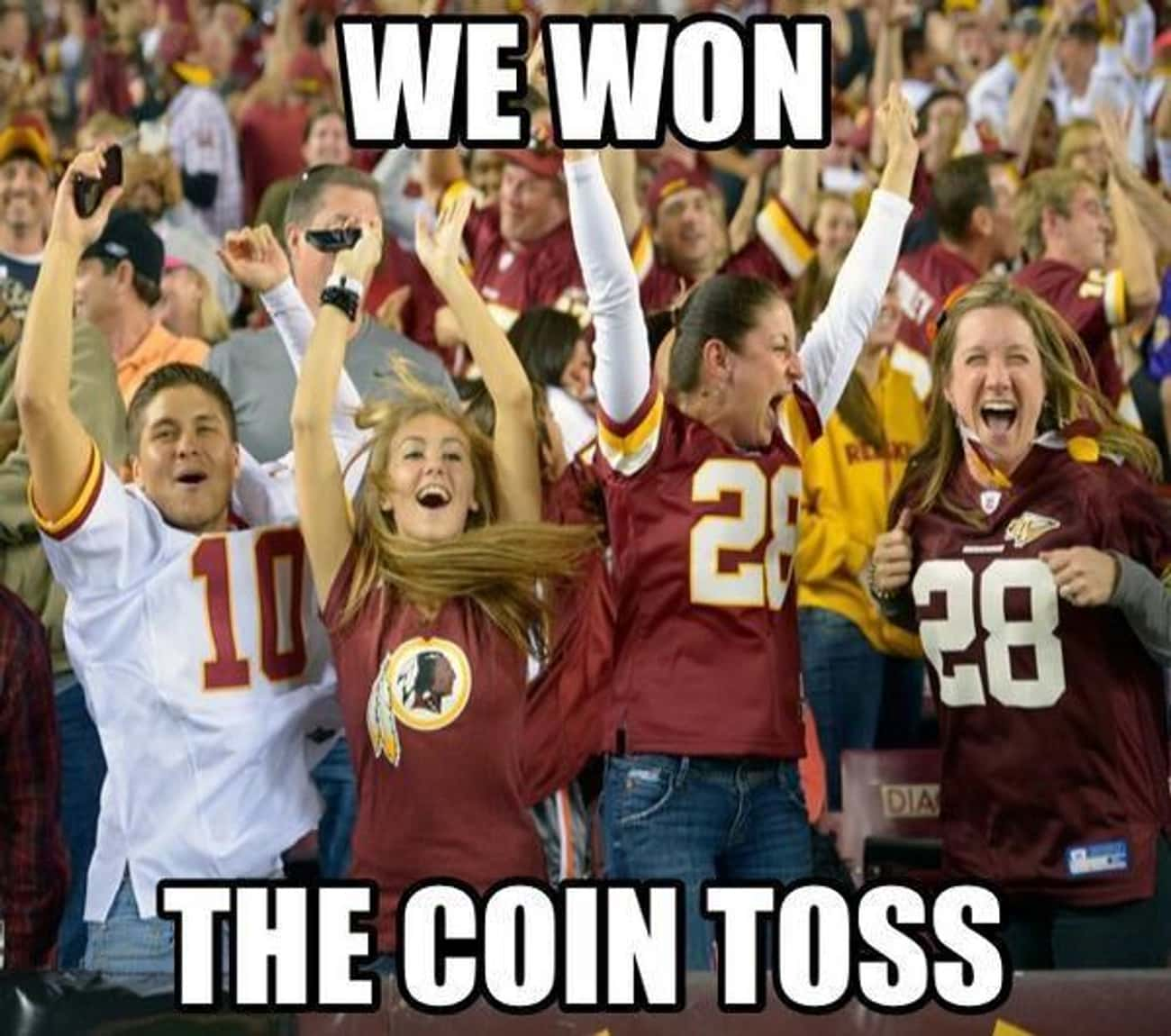 Take A Win Wherever You Can is listed (or ranked) 1 on the list Memes To Express Why Washington Redskins Fans Are The Worst