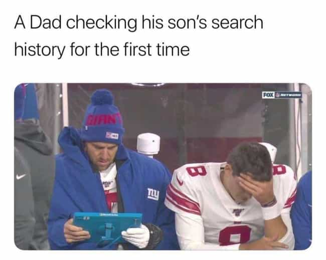 Eli Teaching is listed (or ranked) 1 on the list The Best NFL Memes For The 2019 Season