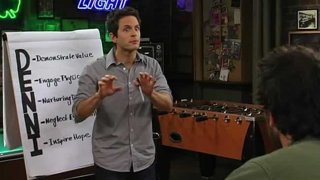 Season 5 - The D.E.N.N.I.S. Sy... is listed (or ranked) 3 on the list The Best 'It's Always Sunny' Episode From Each Season
