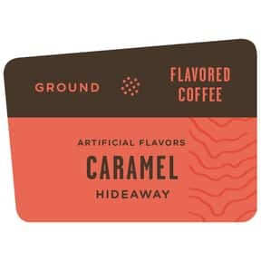 Caramel Hideaway Flavored Coff is listed (or ranked) 18 on the list The Best Caribou Coffee Beans To Brew At Home