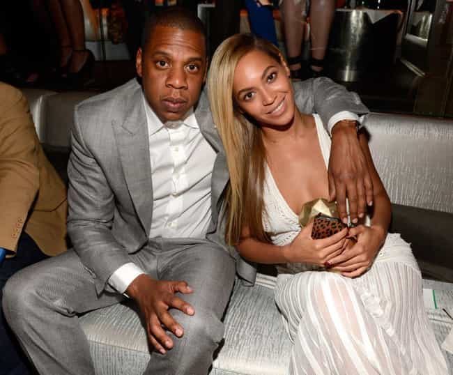 Beyoncé& Jay-Z is listed (or ranked) 4 on the list 14 Music Power Couples Who Didn't Break Up