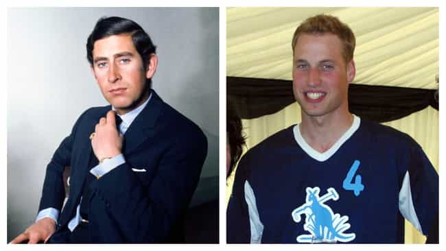 Prince Charles And Prince Will... is listed (or ranked) 2 on the list Photos Of Famous Fathers And Their Sons At The Same Age