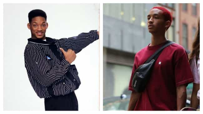 Will Smith And Jaden Smith At ... is listed (or ranked) 3 on the list Photos Of Famous Fathers And Their Sons At The Same Age