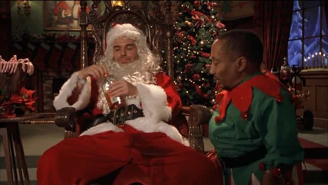 I Weigh 92 Pounds is listed (or ranked) 2 on the list The Most Hilarious 'Bad Santa' Quotes