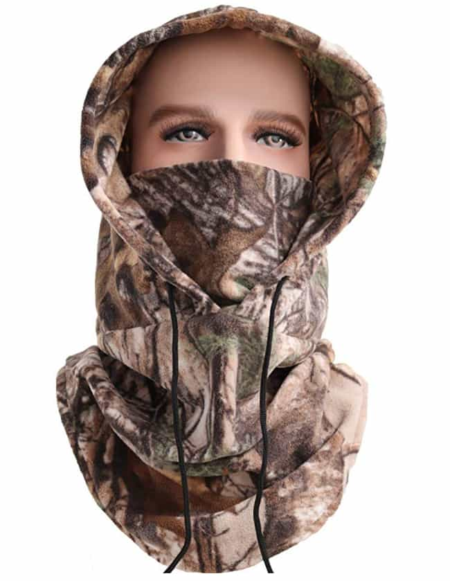 Balaclava Ski Mask Cold Weathe... is listed (or ranked) 2 on the list The Best Hunting Clothes For Women
