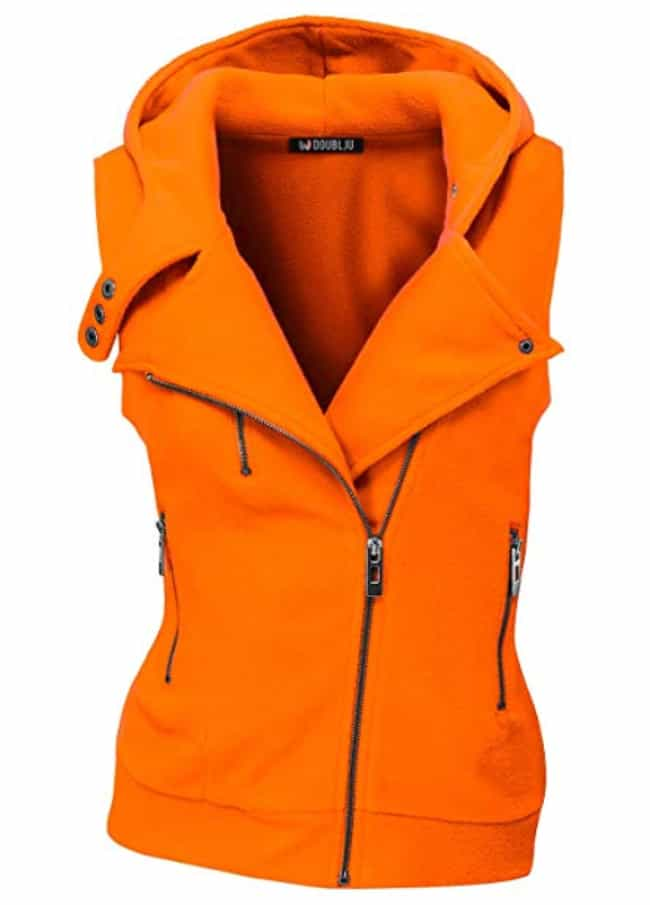 Doublju Womens Hooded Zip-Up V... is listed (or ranked) 1 on the list The Best Hunting Clothes For Women