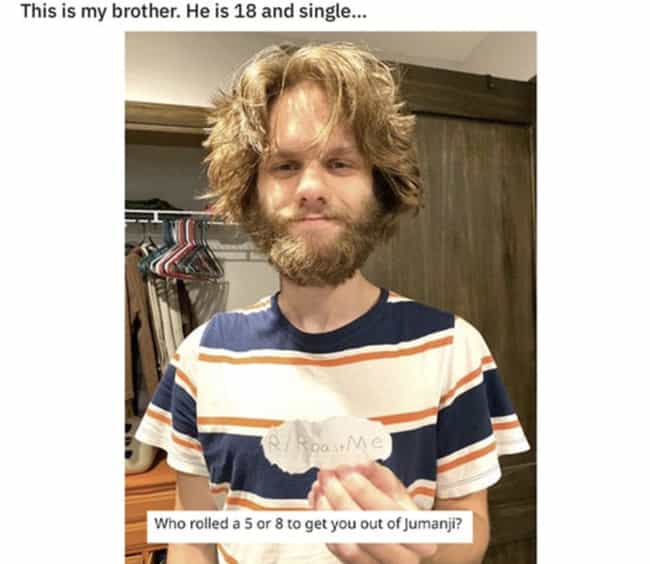 If He's Single What Hope Is Th... is listed (or ranked) 2 on the list 27 People Asked The Internet To Roast Them And Got More Than They Bargained For