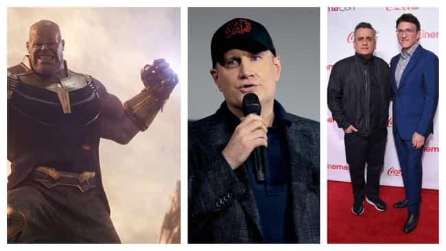 Kevin Feige And The Russ... is listed (or ranked) 2 on the list The Most Influential Filmmakers Of The 2010s