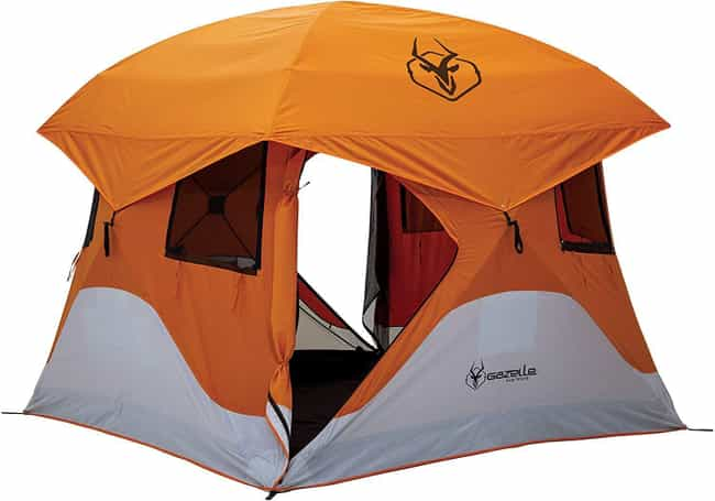 Gazelle 22272 T4 Pop-Up Portab... is listed (or ranked) 2 on the list The Best Large Camping Tents To House The Whole Fam
