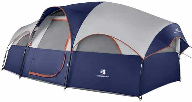 TOMOUNT 8 Person Tent is listed (or ranked) 4 on the list The Best Large Camping Tents To House The Whole Fam