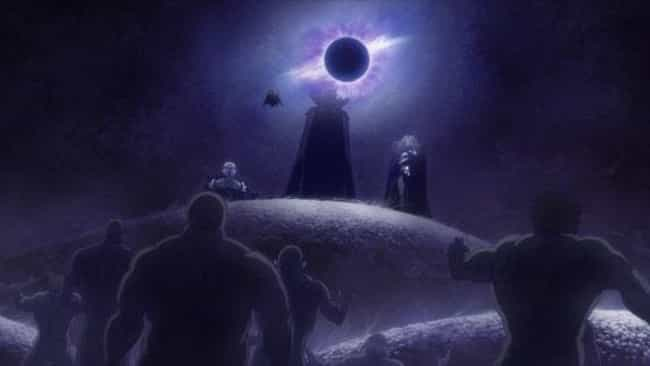 The Godhand - 'Berserk' is listed (or ranked) 2 on the list 15 Anime Eldritch Abominations That Make Your Hairs Stand Up
