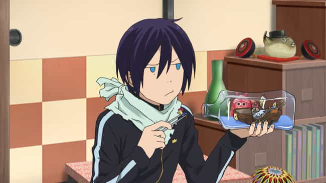 Yato Of 'Noragami' Is 1,000+ Y... is listed (or ranked) 3 on the list 15 Anime Characters Who Are Hundreds of Years Old