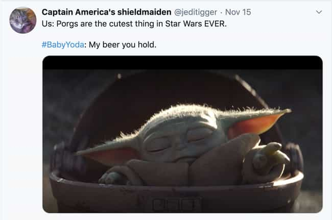 The Sleepiest Jedi is listed (or ranked) 2 on the list The Most Hilarious Reactions To Baby Yoda's Overwhelming Cuteness