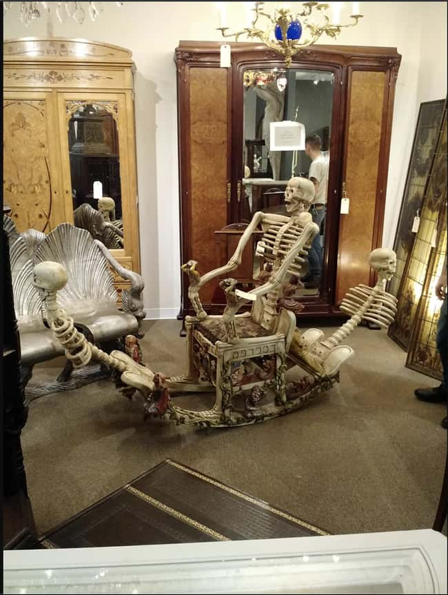 I've Got A Bone To Pick With T is listed (or ranked) 15 on the list 29 Disastrous Interior Design Decisions