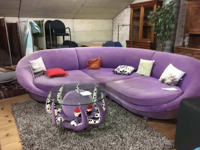 Poor Unfortunate Sofa is listed (or ranked) 24 on the list 29 Disastrous Interior Design Decisions