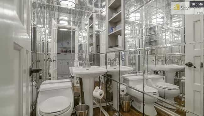 Too Many Mirrors is listed (or ranked) 1 on the list 29 Disastrous Interior Design Decisions