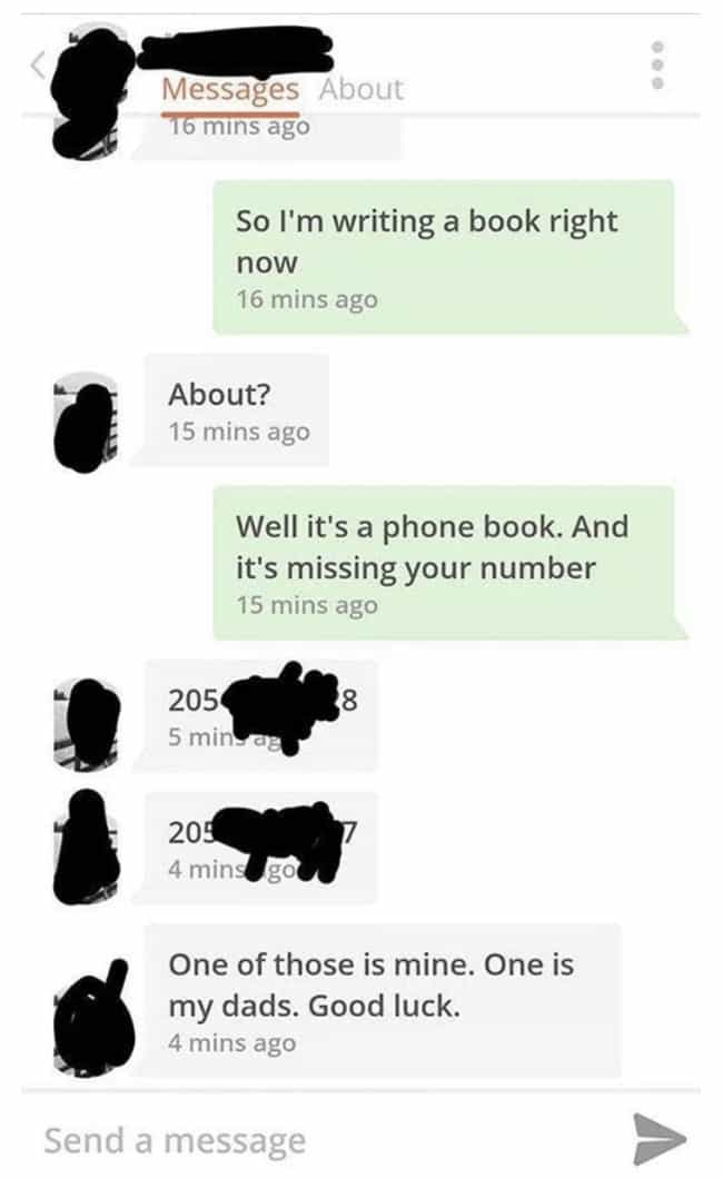 Russian Roulette is listed (or ranked) 3 on the list 16 Bizarre Tinder Interactions