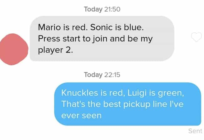 These Nerds Deserve Each Other is listed (or ranked) 1 on the list 16 Bizarre Tinder Interactions