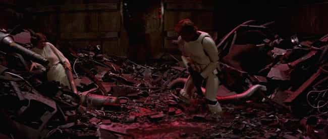 Figure Out If The Water Is Com... is listed (or ranked) 2 on the list How To Survive The Trash Compactor Scene In 'Star Wars'