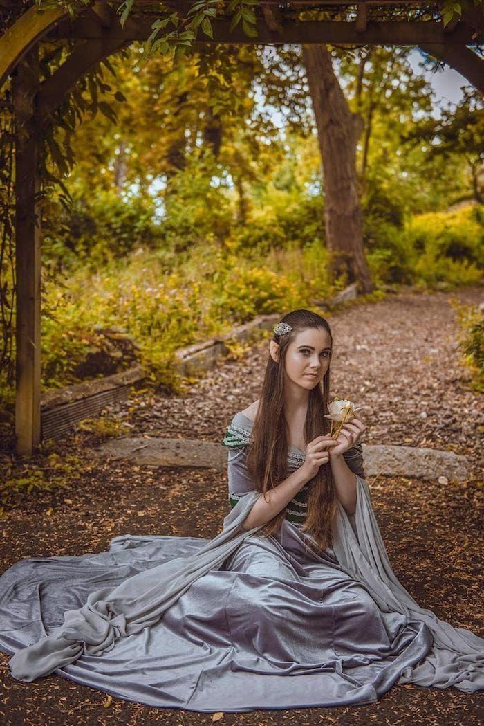 The Elvish Dress on Random Best Nerd-Inspired Wedding Dresses