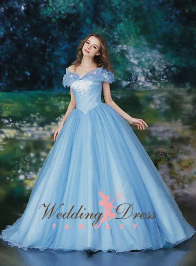 The Cinderella Dress is listed (or ranked) 3 on the list What Are The Best Nerd-Inspired Wedding Dresses?