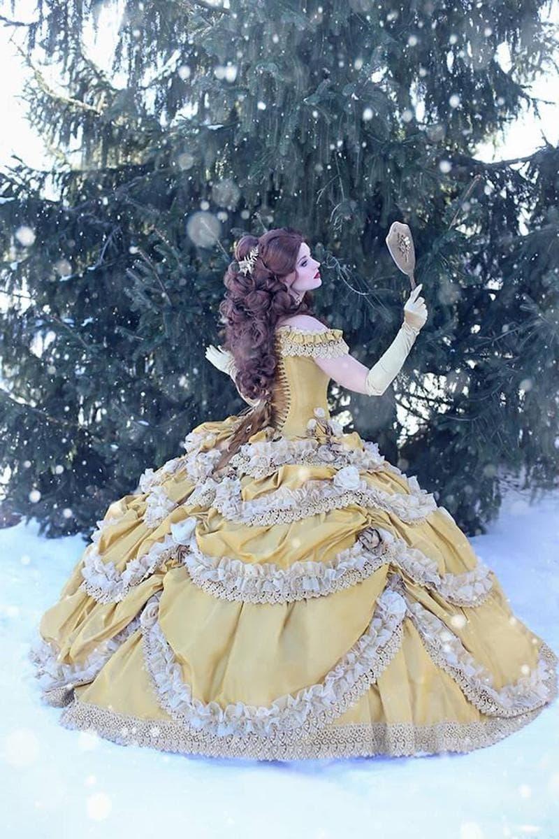 The Belle Dress on Random Best Nerd-Inspired Wedding Dresses