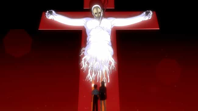 The Angels - 'Neon Genesis Eva... is listed (or ranked) 4 on the list 15 Anime Eldritch Abominations That Make Your Hairs Stand Up