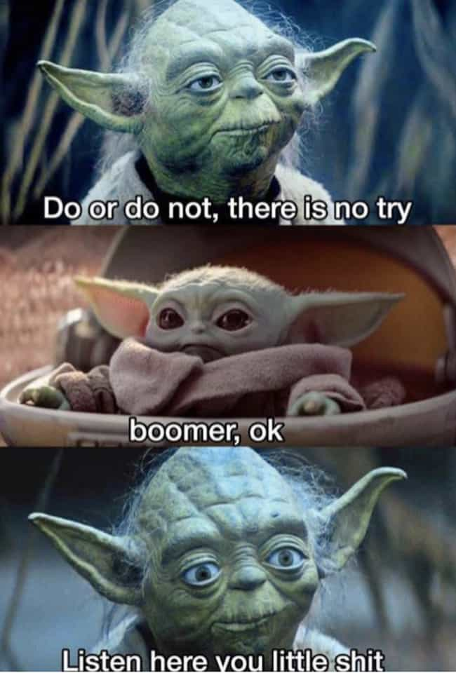Boomer, OK! is listed (or ranked) 3 on the list 19 Funny 'OK Boomer' Memes To Fuel The War Between Boomers And Millennials