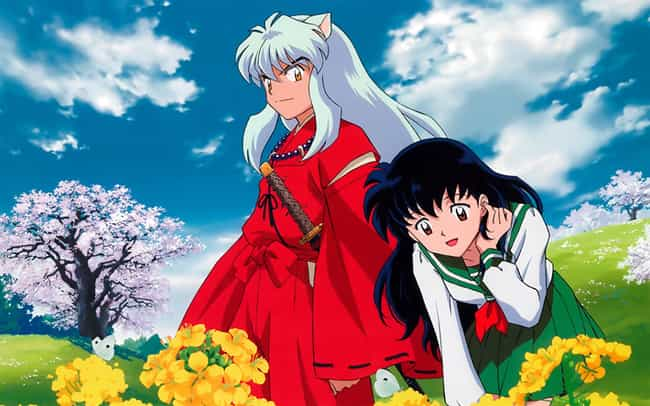 Inuyasha And Kagome From... is listed (or ranked) 1 on the list The Most Memorable Fictional Romances Between Humans And Demons