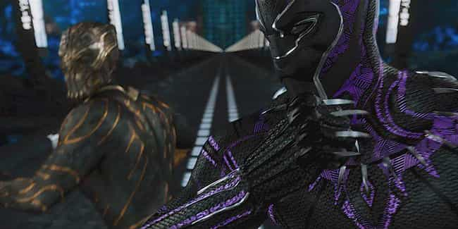 Killmonger Vs. Black Pan... is listed (or ranked) 1 on the list Notably Awful CGI In MCU Movies