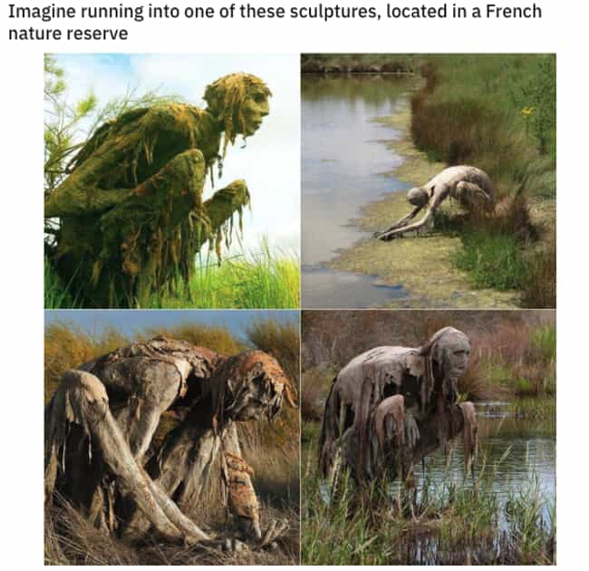 Ah, The French is listed (or ranked) 2 on the list 33 Oddly Terrifying Pictures That We Can't Believe Actually Exist
