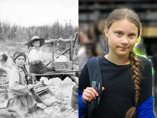 Greta Thunberg's 19th Ce... is listed (or ranked) 1 on the list Crazy Pictures Of People Who Might Just Be Time Travelers