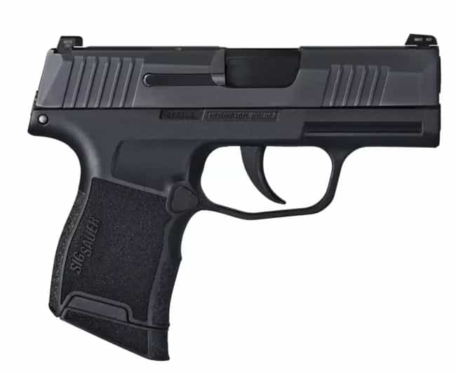 Sig Sauer P365 Semi-Automatic ... is listed (or ranked) 2 on the list The Best 2019 Black Friday Deals From Bass Pro Shops