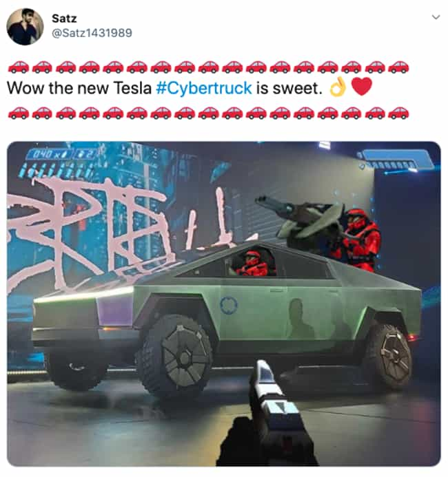 Tesla Warthog is listed (or ranked) 1 on the list People Are Trolling Elon Musk's Hideously Designed Cybertruck