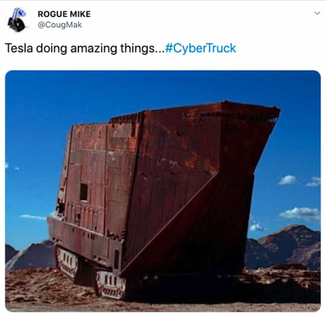 Junk In The Trunk is listed (or ranked) 3 on the list People Are Trolling Elon Musk's Hideously Designed Cybertruck