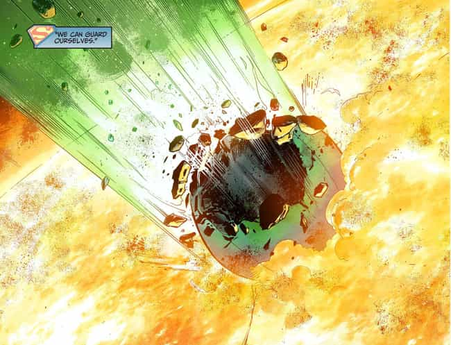 Superman Decimates The G... is listed (or ranked) 4 on the list Surprising Moments From The 'Injustice' Series