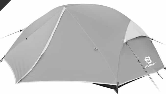 Bessport Camping & Backpacking... is listed (or ranked) 2 on the list The Best Cheap Camping Tents That Don't Feel Cheap