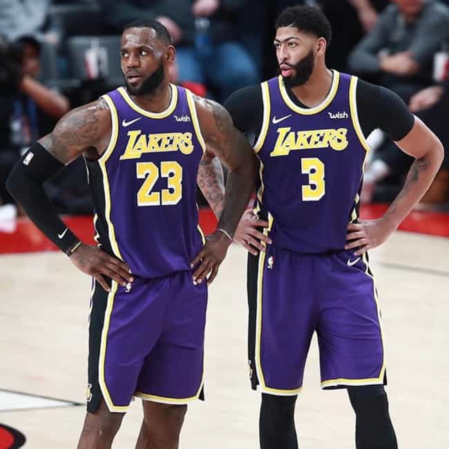 LeBron James And Anthony... is listed (or ranked) 1 on the list The Most Dominant NBA Duos Of The 2019-20 Season