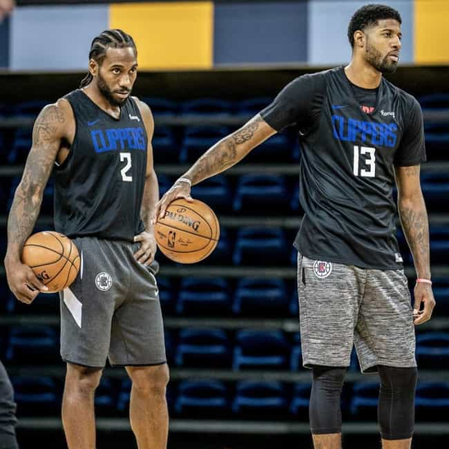 Kawhi Leonard And Paul G... is listed (or ranked) 2 on the list The Most Dominant NBA Duos Of The 2019-20 Season