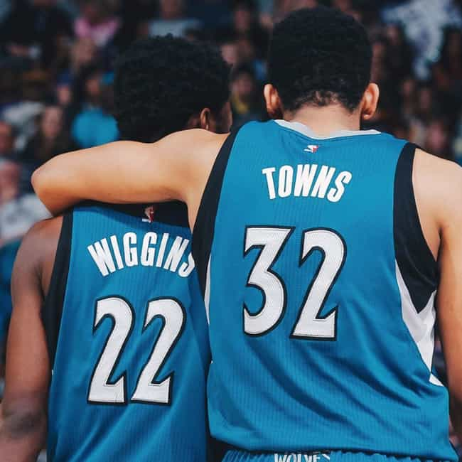 Karl-Anthony Towns And A... is listed (or ranked) 3 on the list The Most Dominant NBA Duos Of The 2019-20 Season