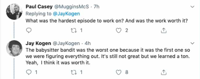 Toughest Episode To Work On is listed (or ranked) 3 on the list Simpsons Writer Shares Behind-The-Scenes Stories Even Serious Fans Don't Know