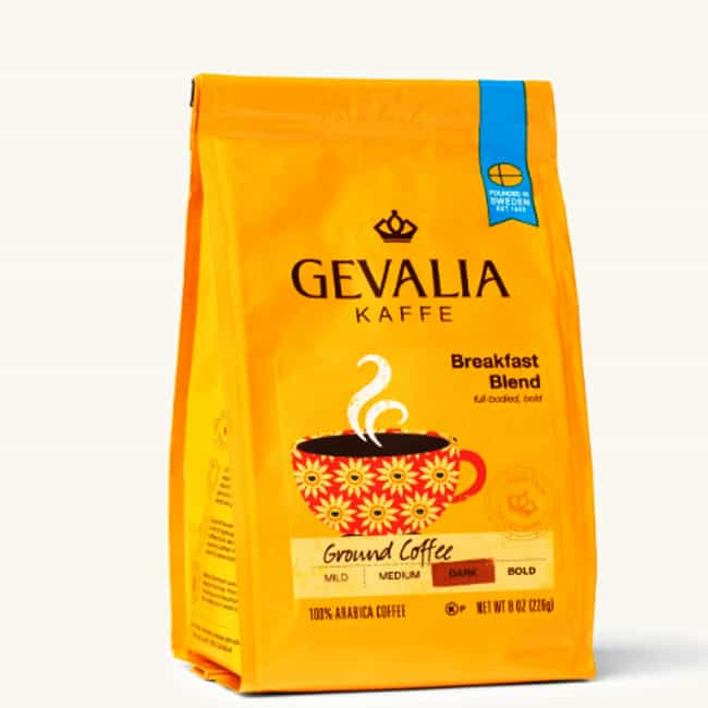 Breakfast Blend is listed (or ranked) 2 on the list The Best Gevalia Coffee Beans To Brew At Home