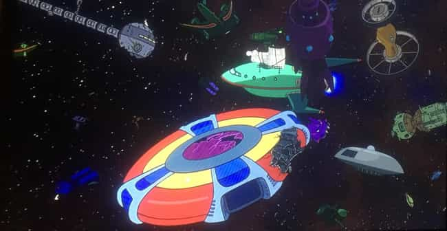 A Spaceship Graveyard In... is listed (or ranked) 2 on the list Obscure Pop Culture References From 'Futurama,' Ranked