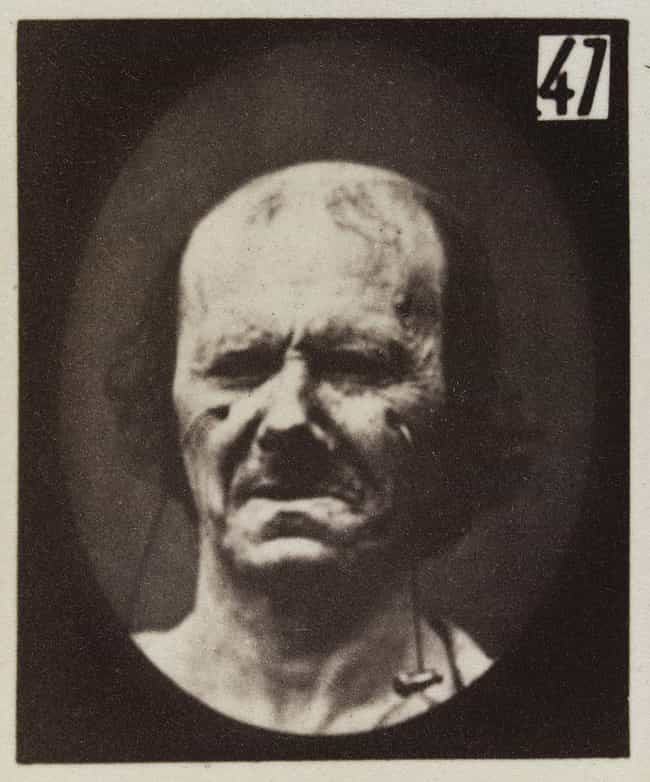 Crying is listed (or ranked) 4 on the list The Images From This 19th-Century Experiment On Facial Expressions Are Kind Of Creepy